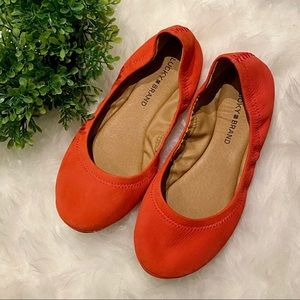 Lucky Brand Coral Flats
